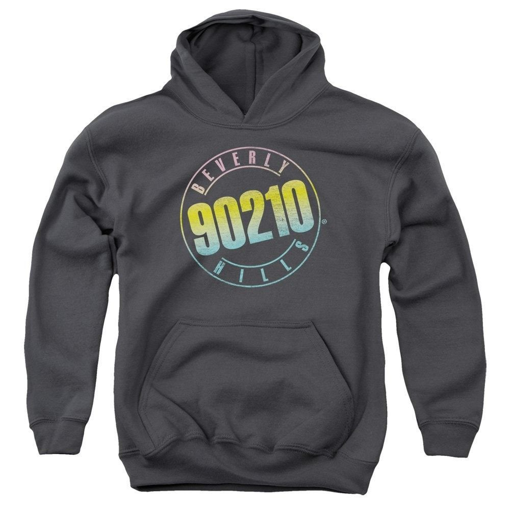 90210 - Color Blend Logo Youth Pull-Over Hoodie