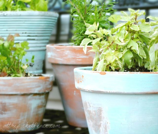 Joanna Gaines Inspired DIY Farmhouse Flower Pots | The Cottage Market