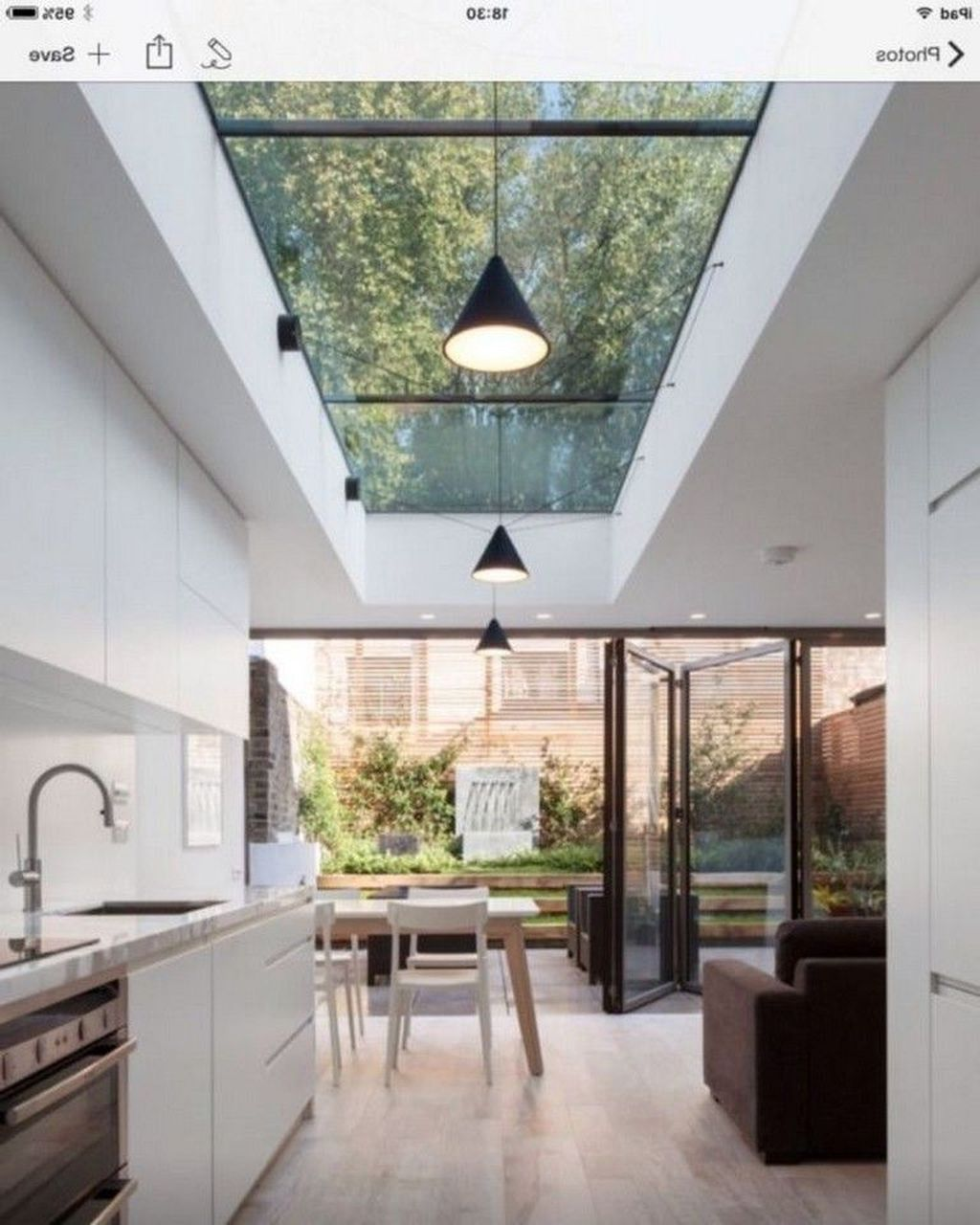 Glass Ceiling Design Ideas Skylight Kitchen Modern Kitchen Design House