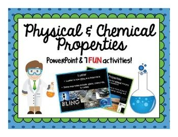 Physical & Chemical Properties PowerPoint | Middle Science