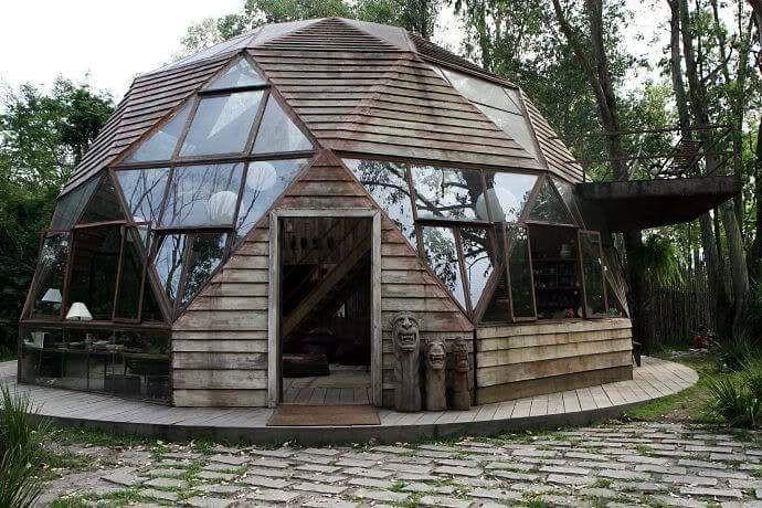 Pin de carlos senosiain en dome casa geodesica casa en - Casas geodesicas ...
