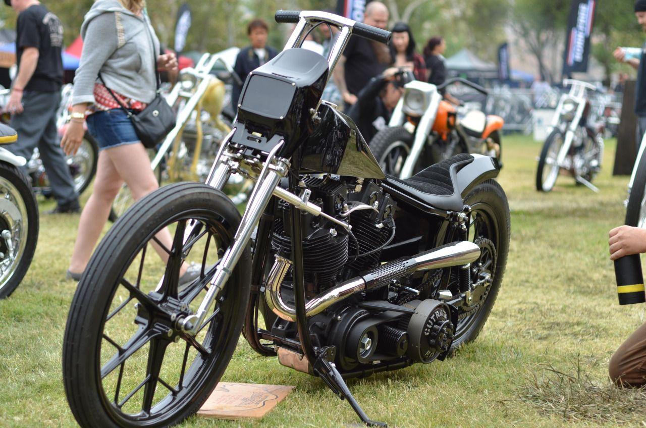 """The black bike"" HarleyDavidson ""Shovelhead"" 1977 by"