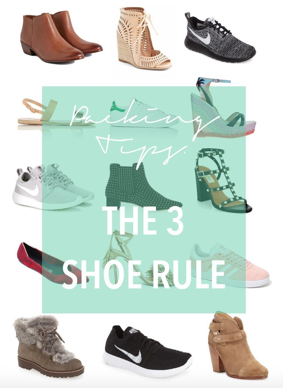 How to carry shoes 87