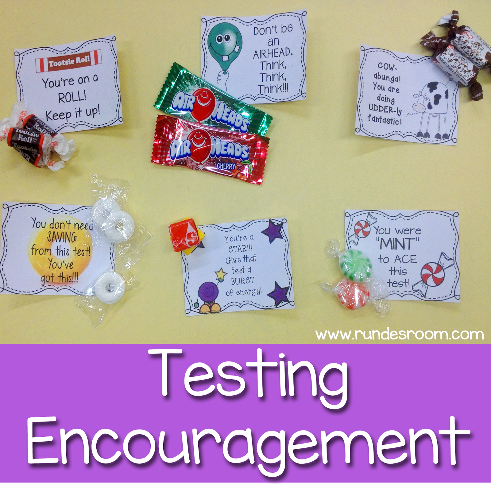 Testing quotes for elementary students - Some Sweet Testing Encouragement