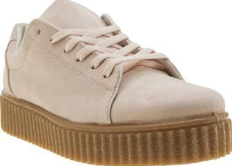 da00a7cb46f76d Schuh Pale Pink Fun And Games Womens Trainers Here at schuh