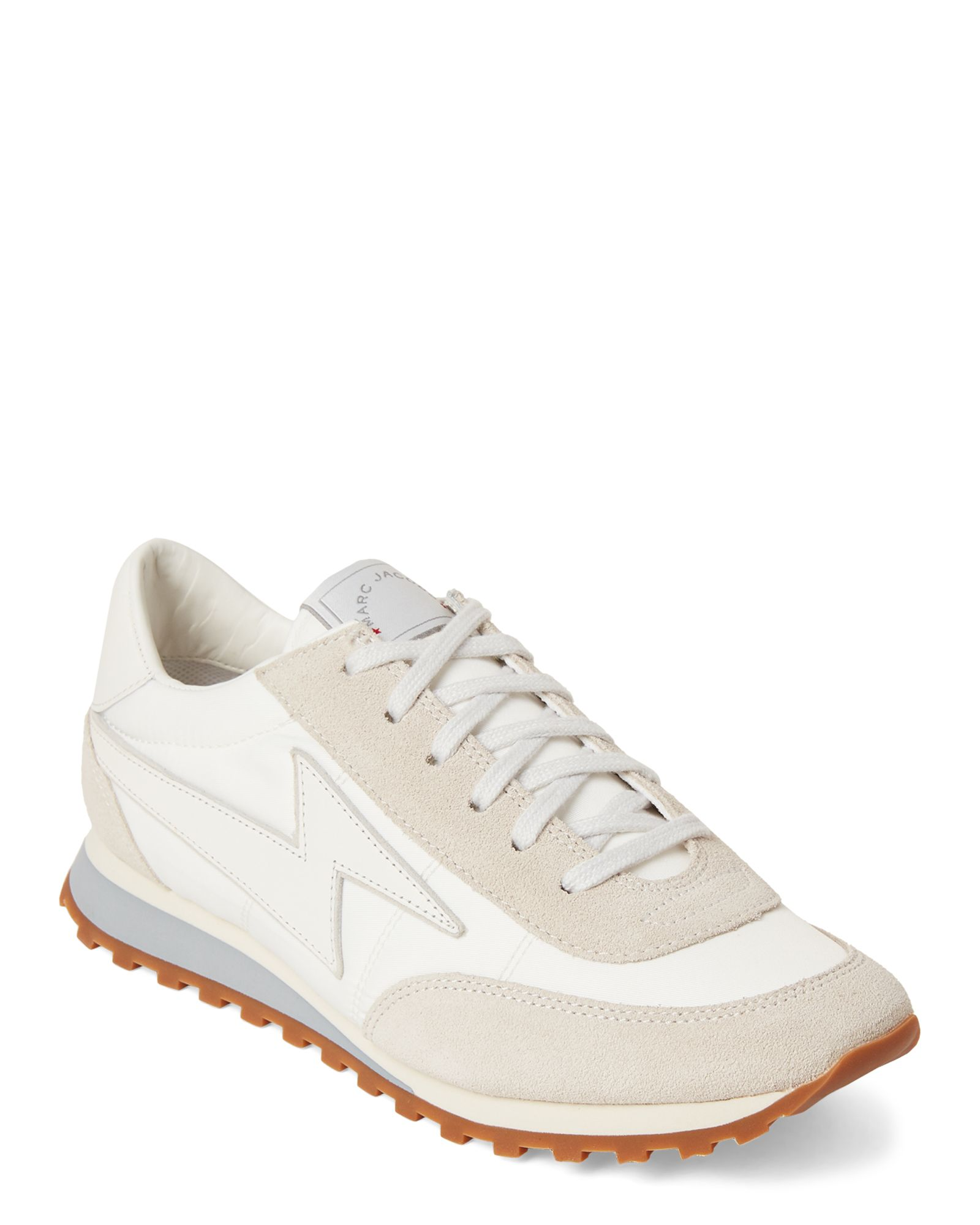 979e7ed89 White Astor Lighting Bolt Low-Top Sneakers in 2019 | *Apparel ...