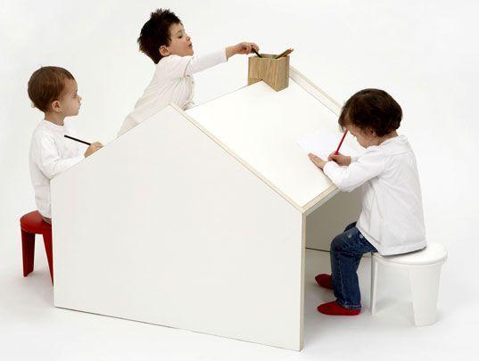 Kid Desk Play Houses Kids Furniture, Cafe Kids Furniture