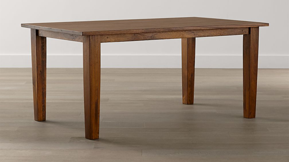Basque Grey Wash 65 Dining Table Reviews Crate And Barrel In