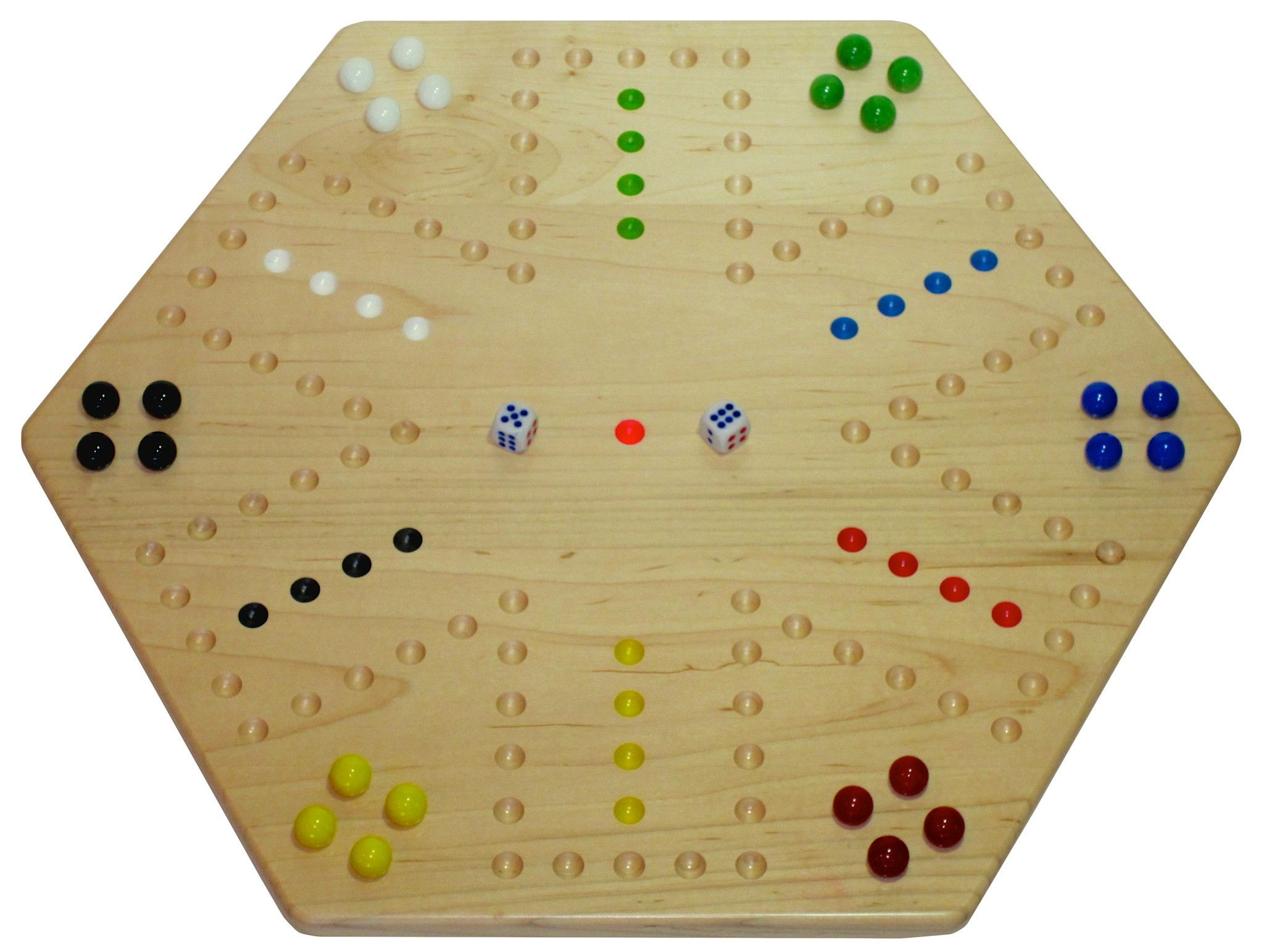 Comprehensive image with printable template for aggravation game