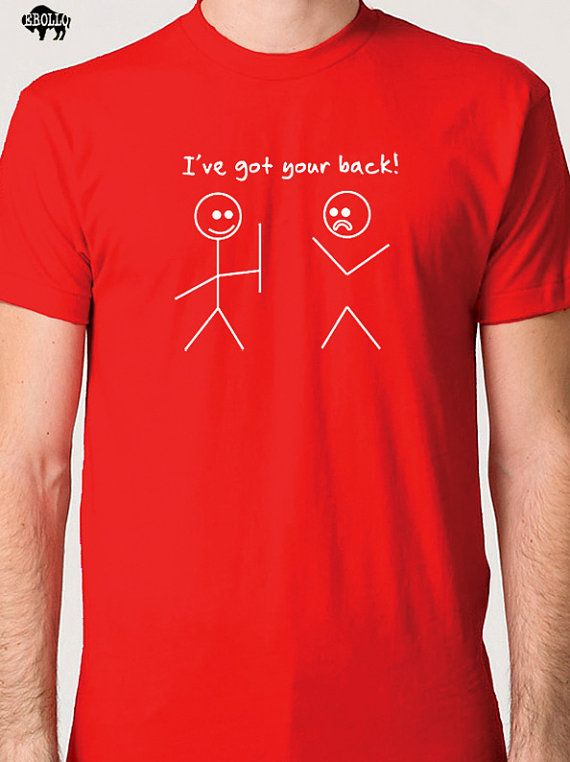 Husband Gift Best Friend Gift I've Got Your Back T-shirt Christmas ...