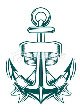 0805b614b Vintage Anchor Stock Vector Art & More Images of Anchor - Vessel ...