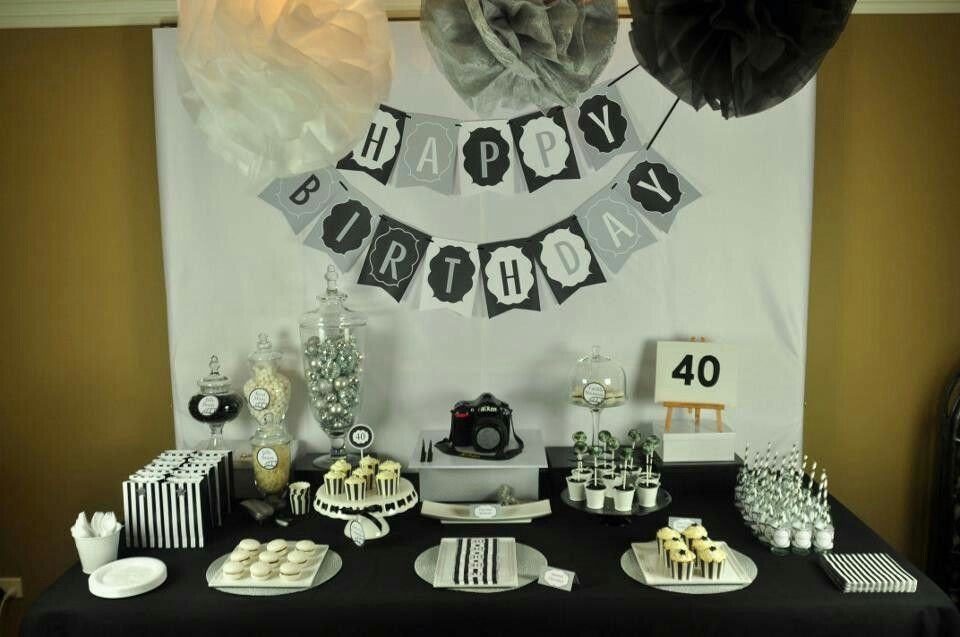 Pin by Jacqui Flores on habibi 40th birthday decorations