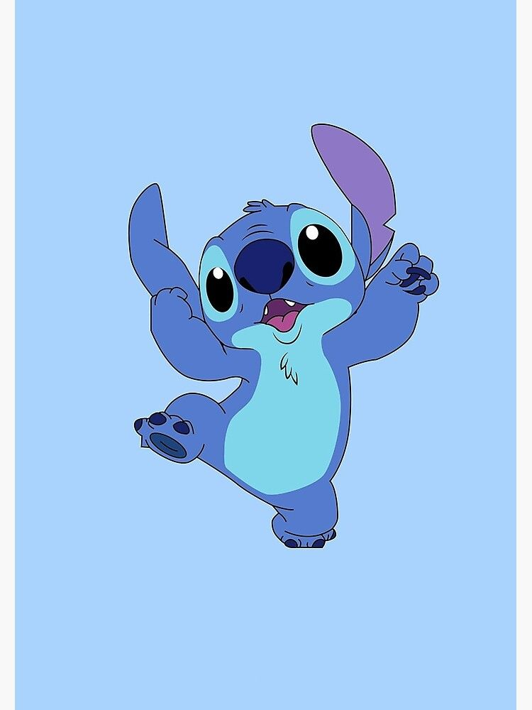 silly stitch Poster