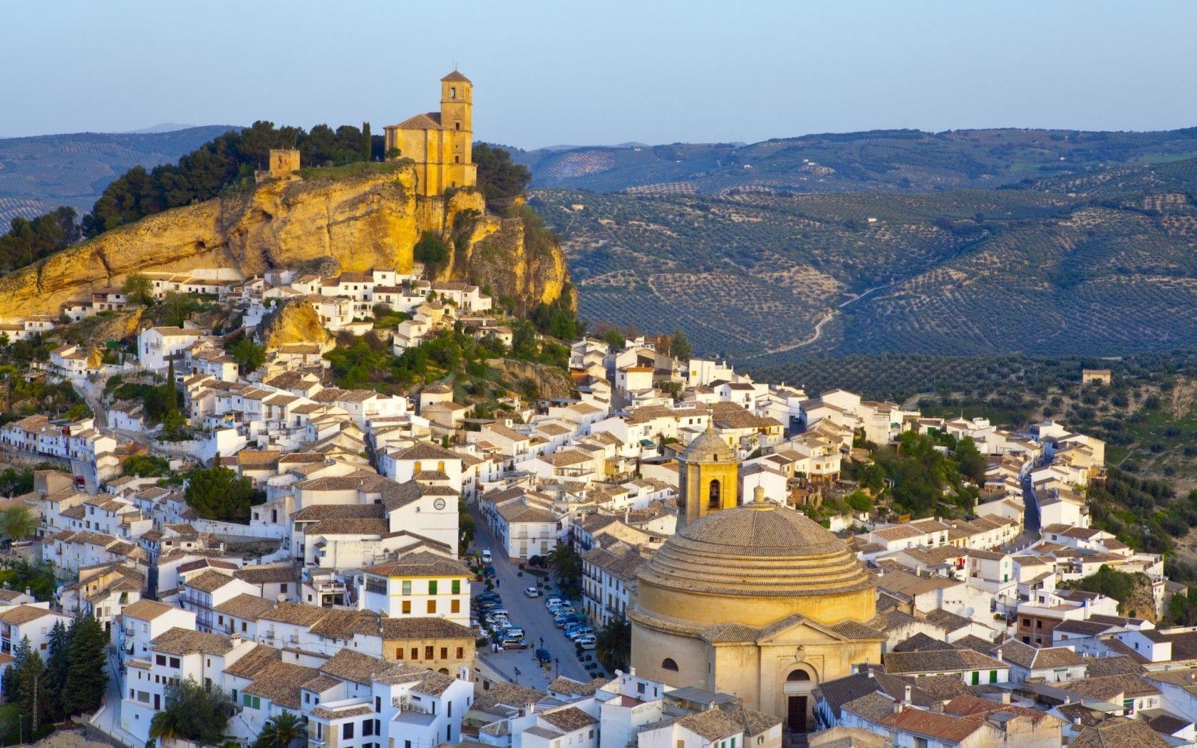 หมู่บ้านสีขาวแห่ง Andalucía Andalucía region, Spain