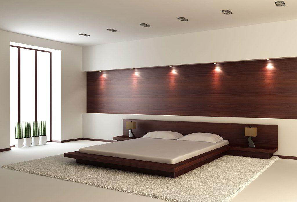 Image Of King Size Modern Platform Bed Contemporary Bedroom Decor Contemporary Bedroom Design Modern Bedroom Design