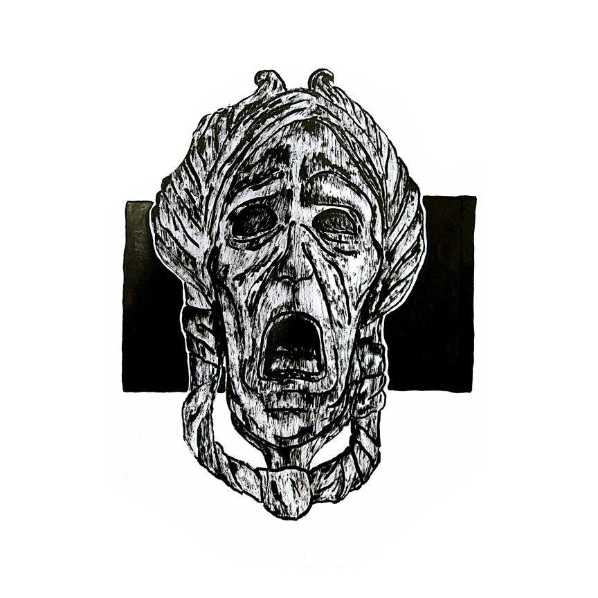 STONEHARD. as hard as stone ink on paper ABASCADABAS // 2017