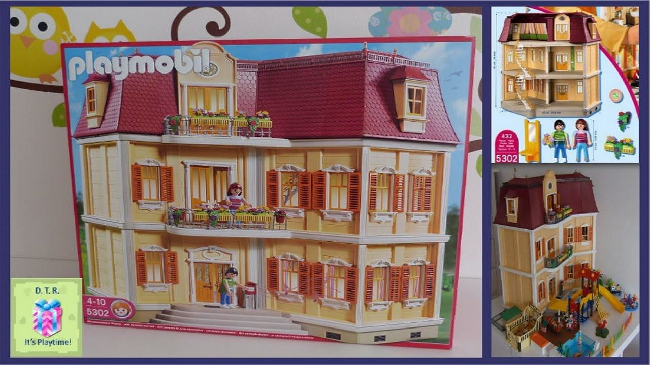 Playmobil 5302 Dollhouse Grande Mansion Unboxing with