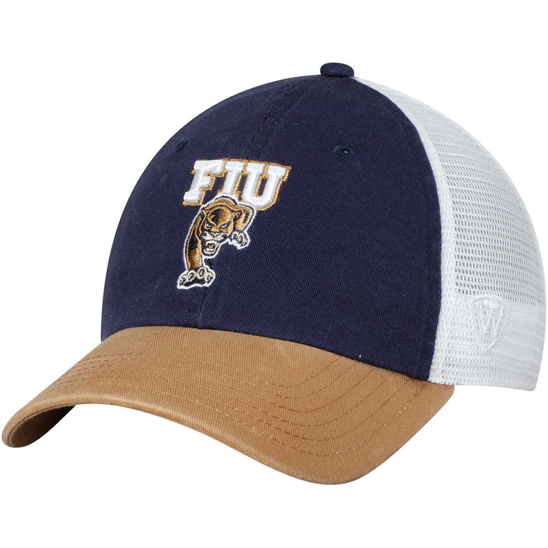 cheap for discount 2f98c 9e03e FIU Panthers Top of the World Backroad Trucker Adjustable Hat - Navy