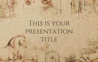 Free Quality Presentation Templates History Background History Theme Presentation Template Free