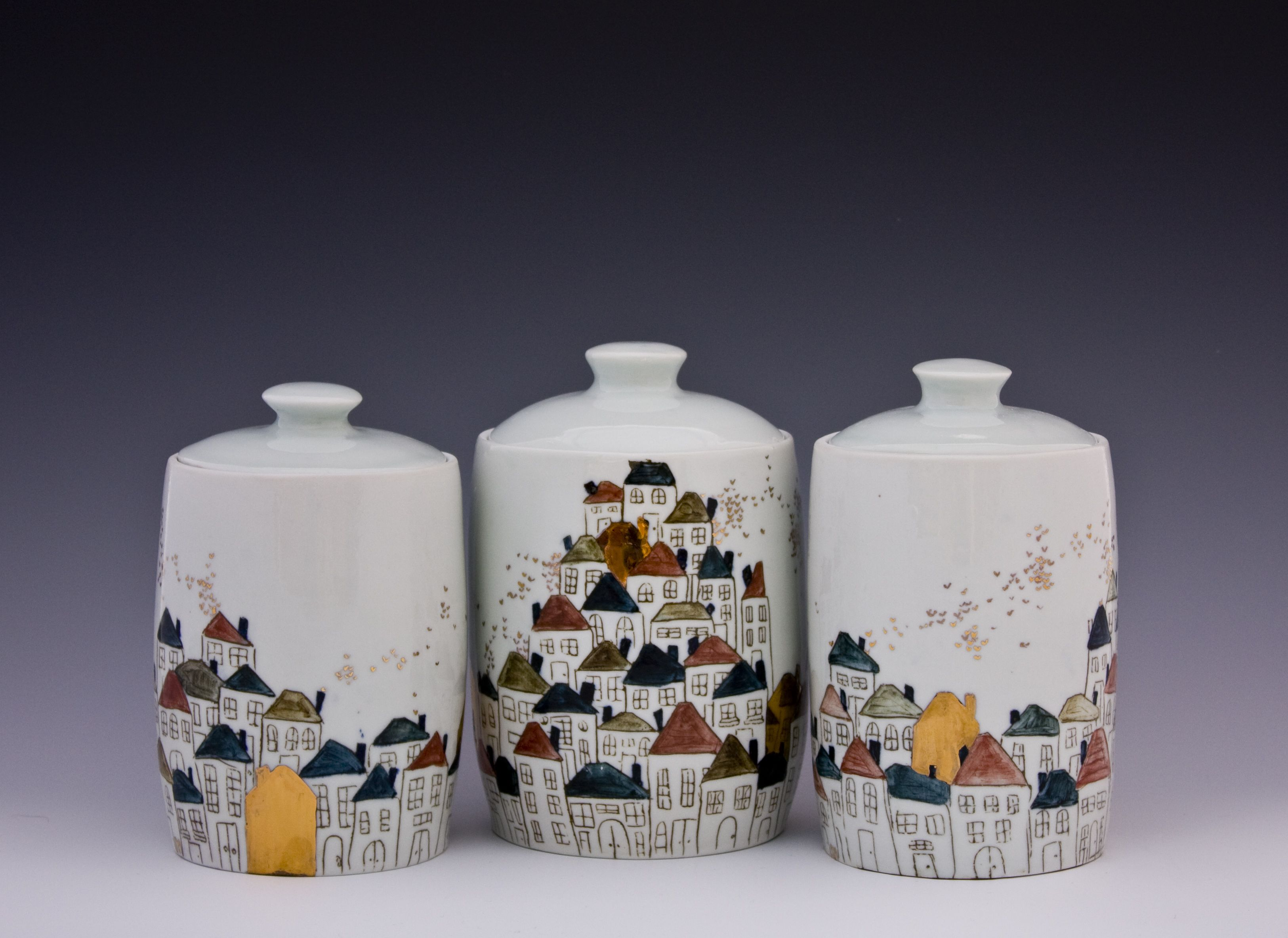 """Sarah Anne Marrafino """"The Importance of a Two Car Garage"""" (With images)  Pottery art, Surface"""