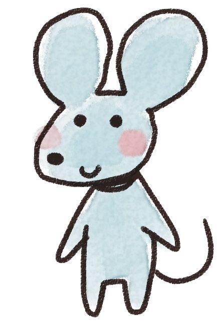 ネズミのイラスト(子年・干支)