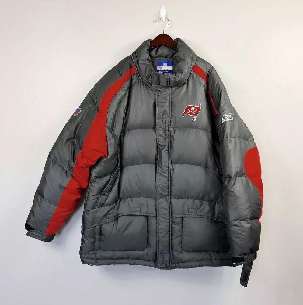 Reebok Nfl Team Apparel Tampa Bay Buccaneers Down Feather Puffer Jacket 2xl Ebay Nfl Team Apparel Team Apparel Nfl Teams [ 1000 x 996 Pixel ]