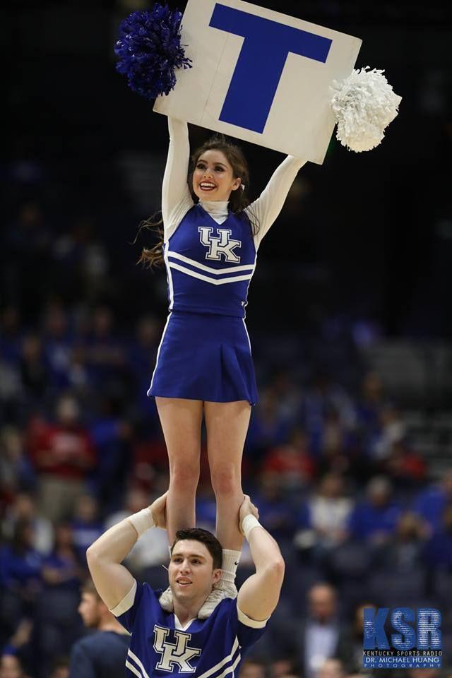 Kentucky Wildcat Cheerleaders Stock Photos and Pictures