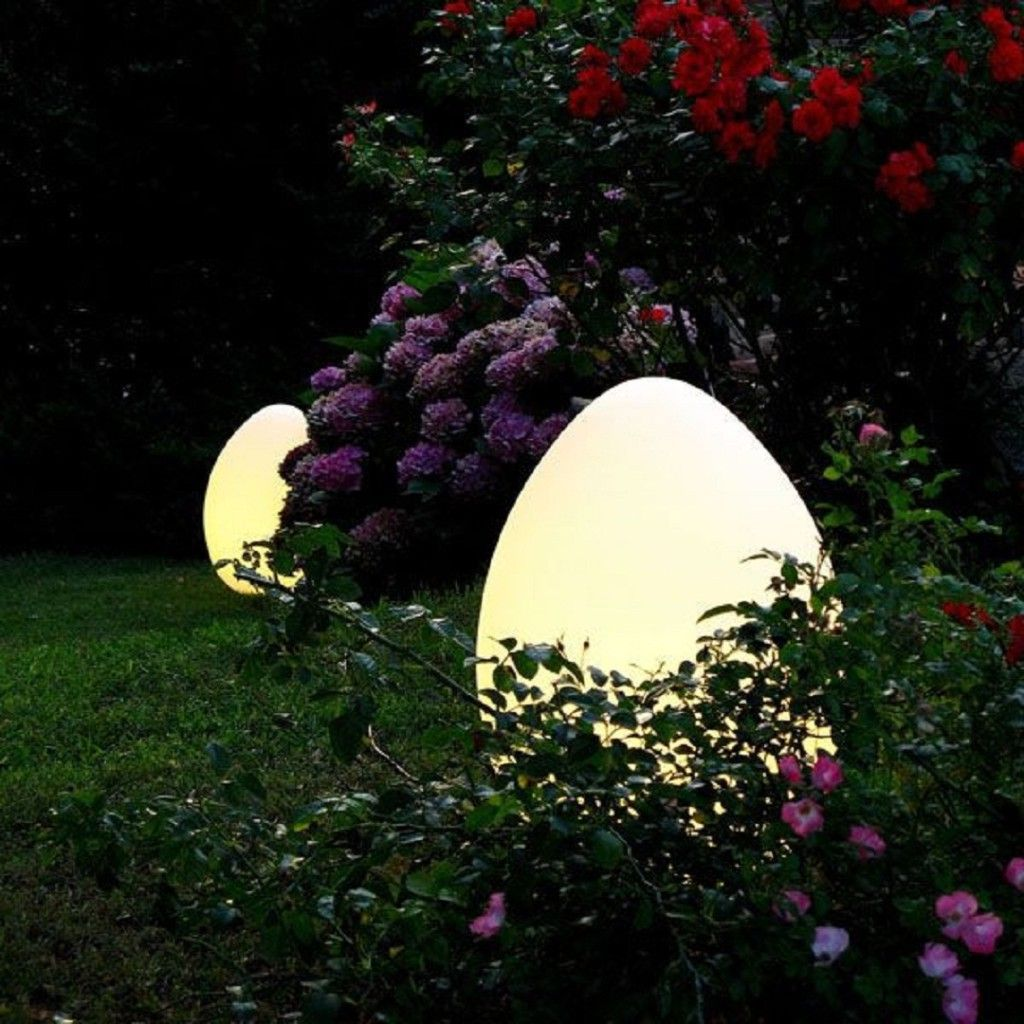 Outdoor Unique Garden Lighting Forcing Every Eyes Looking