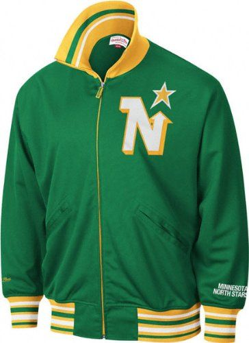 Mitchell And Ness - Minnesota North Stars  Power Play ( ) Track Jacket   OWNED - too big!  4cc671003