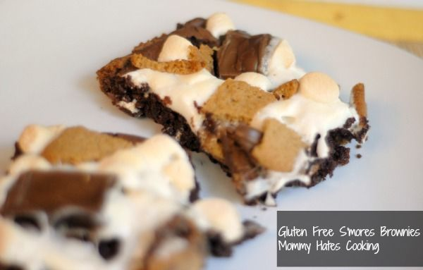 S'mores Brownies (Can be made #GlutenFree too)