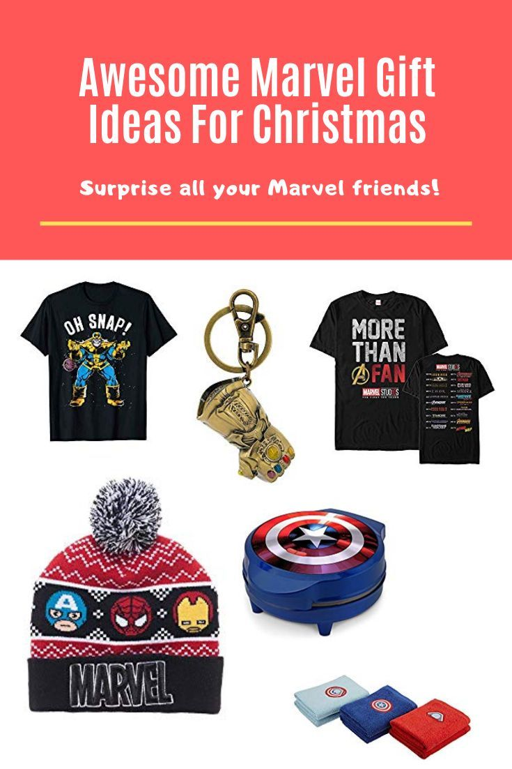 Awesome Marvel Gift Ideas For Christmas | Marvel gifts ...