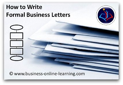 Writing A Formal Business Letter Is Not As Easy As It Seems