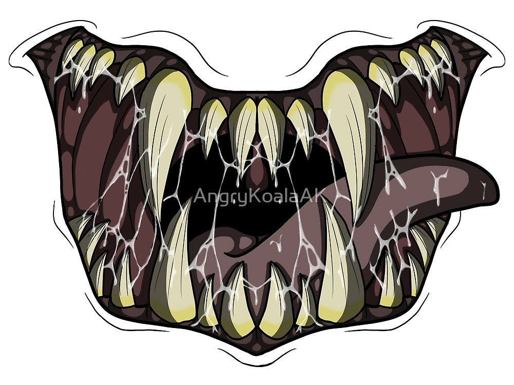 Monster Mouth by AngryKoalaAK