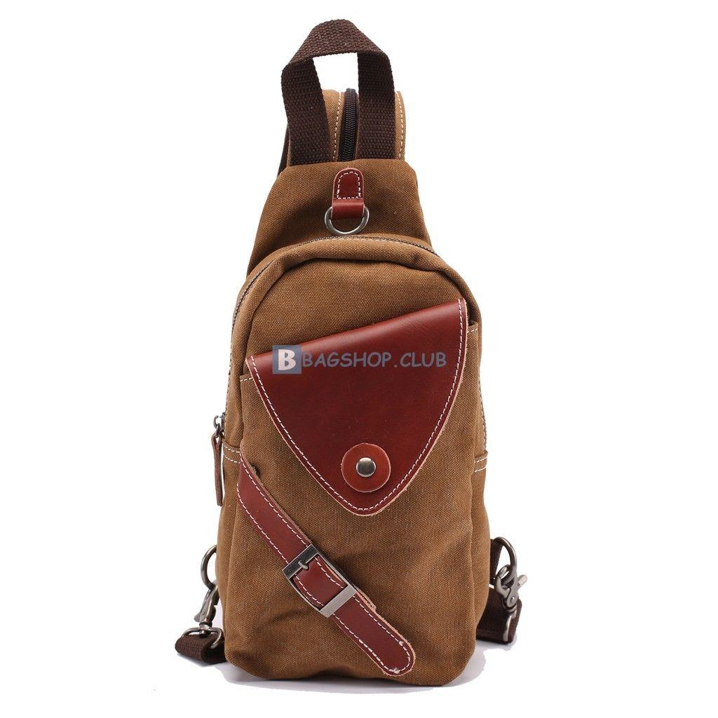 c608efd30fe4  58.99 Canvas Sling Bag For Men Strap Backpacks