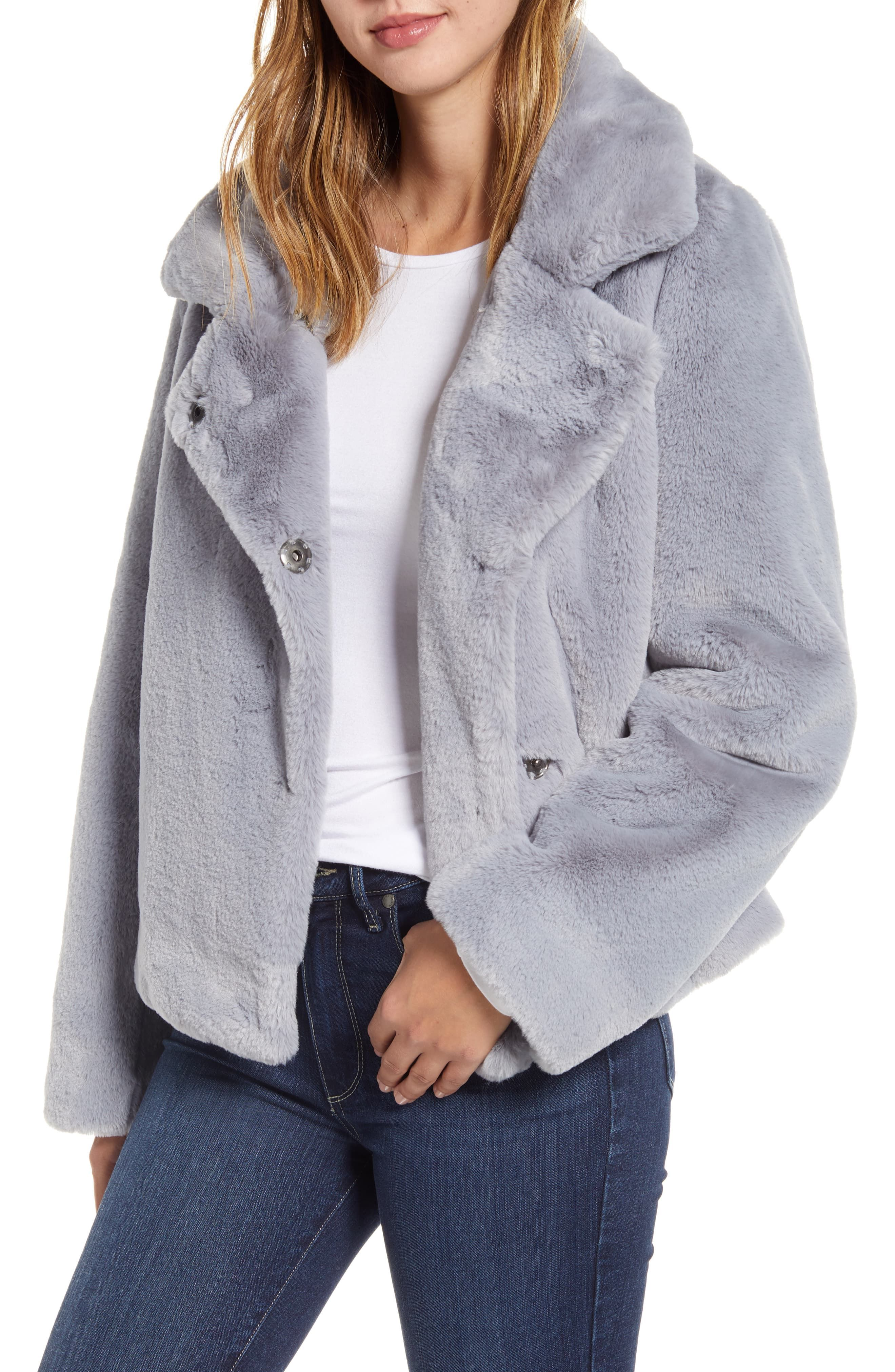 Sam Edelman Faux Fur Jacket available at Nordstrom Fur