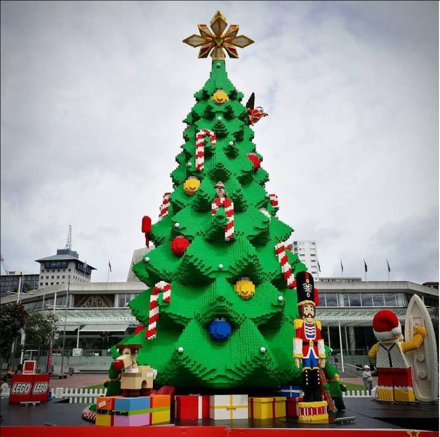 The Lego Christmas Tree Auckland Nz Lego Christmas Tree Lego Christmas Christmas Tree
