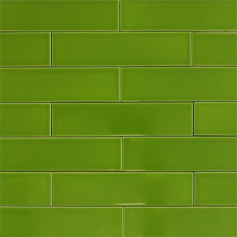 Dill Green Subway Ceramic Tile Modwalls Clayhaus Looks Like The In