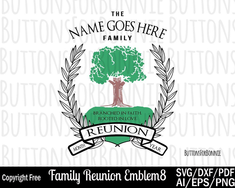 Family Reunion Svg Rooted In Love Tree Svg Roots Svg Etsy Family Reunion Tree Svg Family Tree