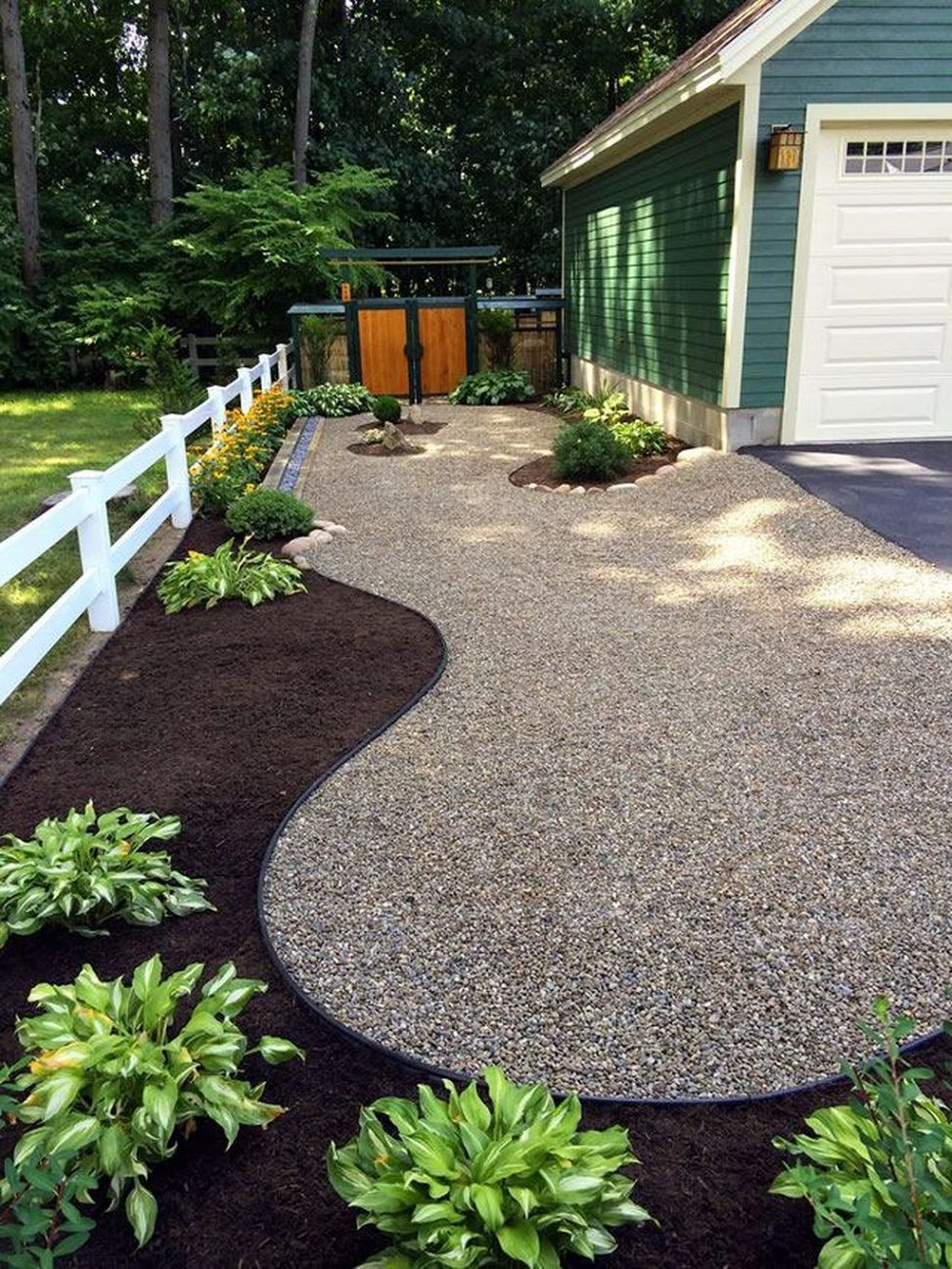 awesome rock landscaping ideas backyard that work | front