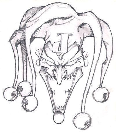 Joker Hat Sketch Google Search Joker Drawings Creepy Drawings Skulls Drawing