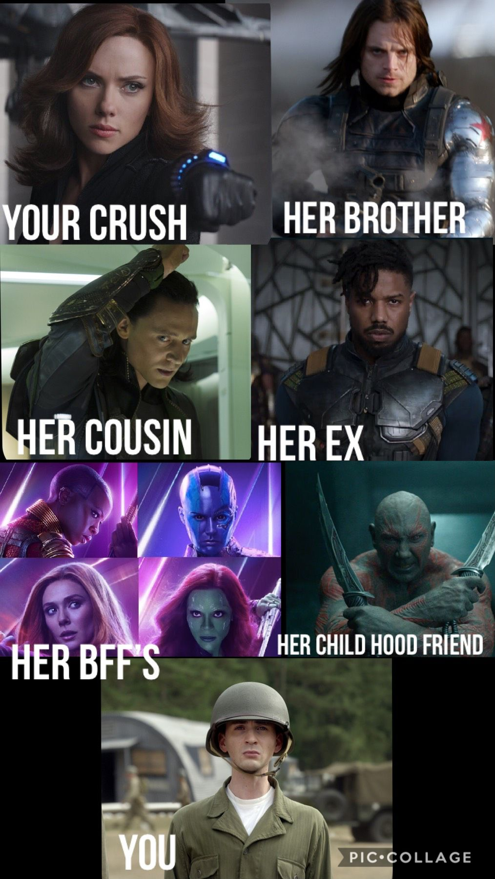Love This Meme They Should Have One For Star Trek Star Wars And Doctor Who Marvel Jokes Marvel Memes Funny Marvel Memes