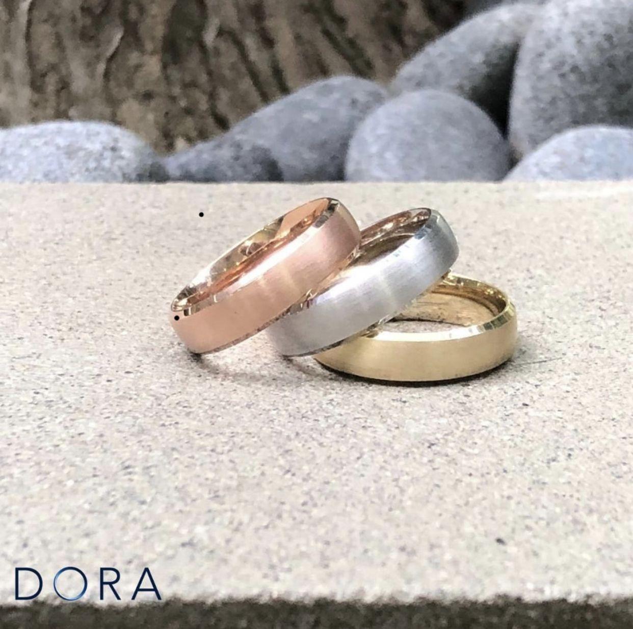DORA Men's Wedding Rings & Bands Melbourne Franco