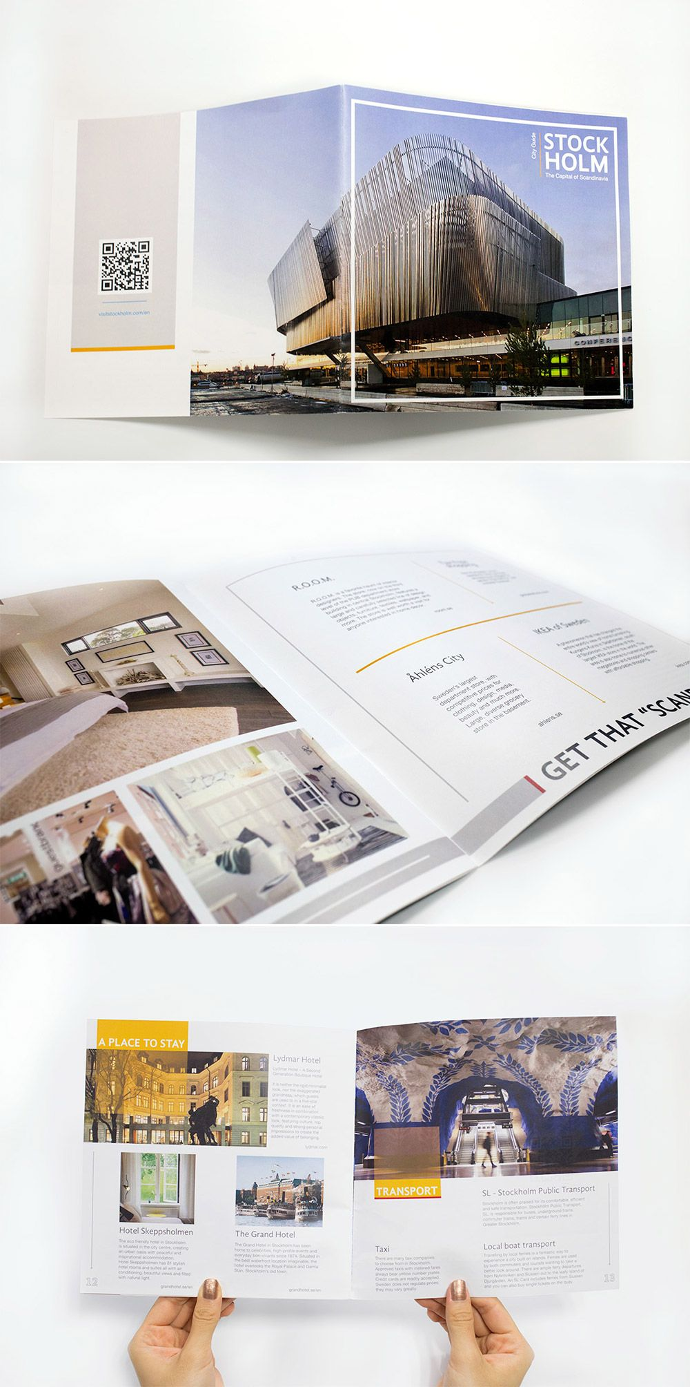 tour brochure examples