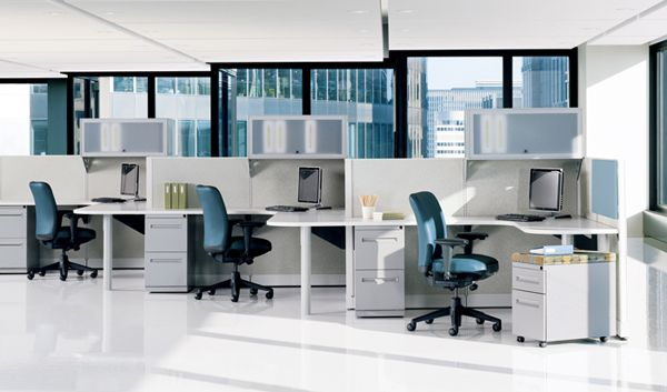 Office Space Idea Used Office Furniture Office Layout Office Cubicle