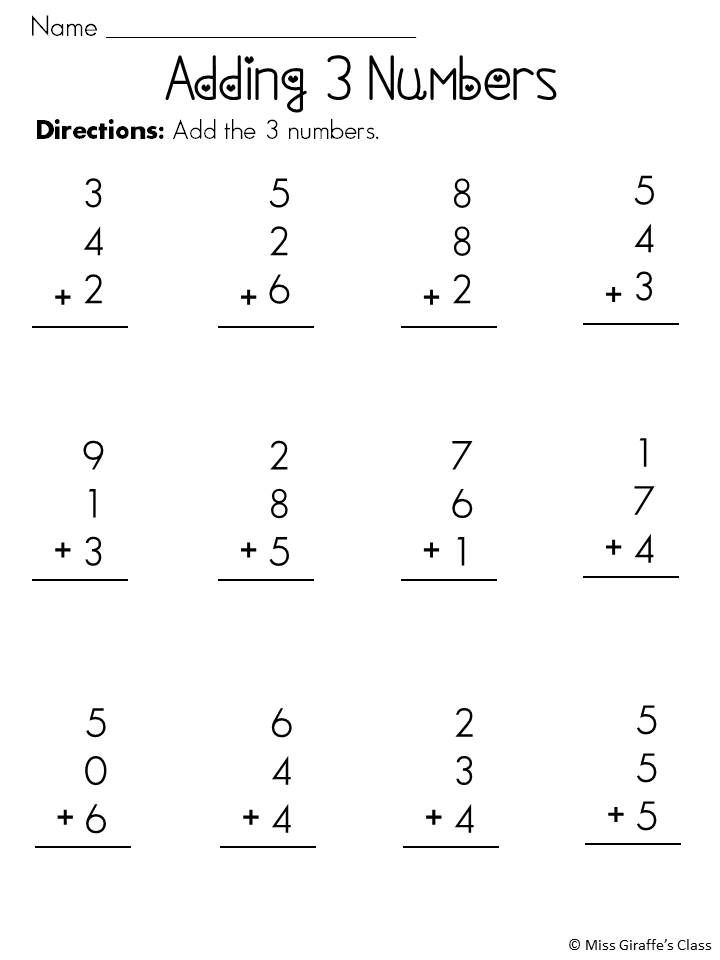 Worksheets 1st Grade Common Core Worksheets first grade common core math assessments operations and algebraic adding 3 numbers activities worksheets mega pack 1st grade