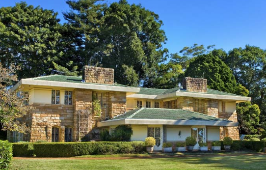 Pymble House by Walter Griffin