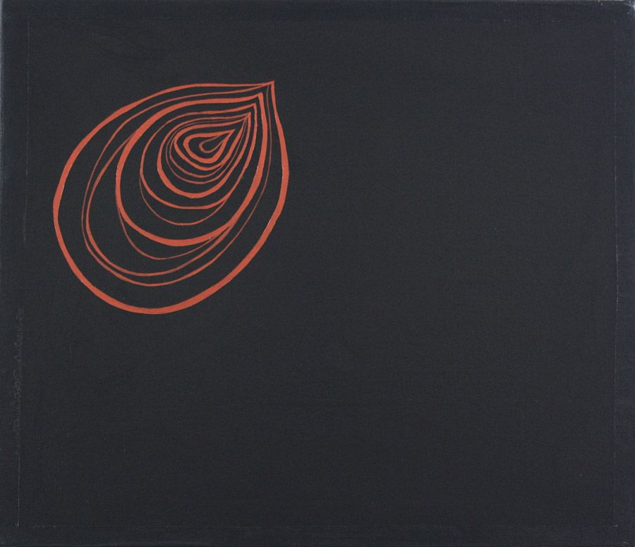 Anjali Deshmukh 2010 arylic on canvas copper
