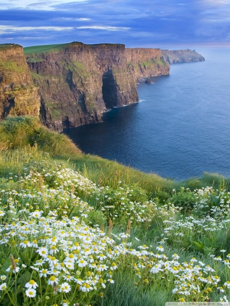 THE CLIFFS OF MOHER, CLARE IRELAND   .