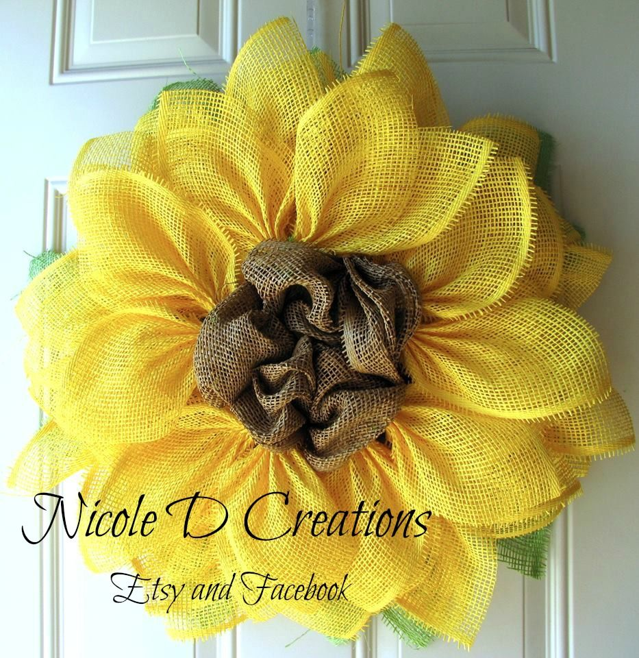 Yellow paper flower tutorial tutorials school and wreaths trendy tree tutorial for yellow paper mesh pencil wreath wired roping tinsel flex tubing jeuxipadfo Image collections