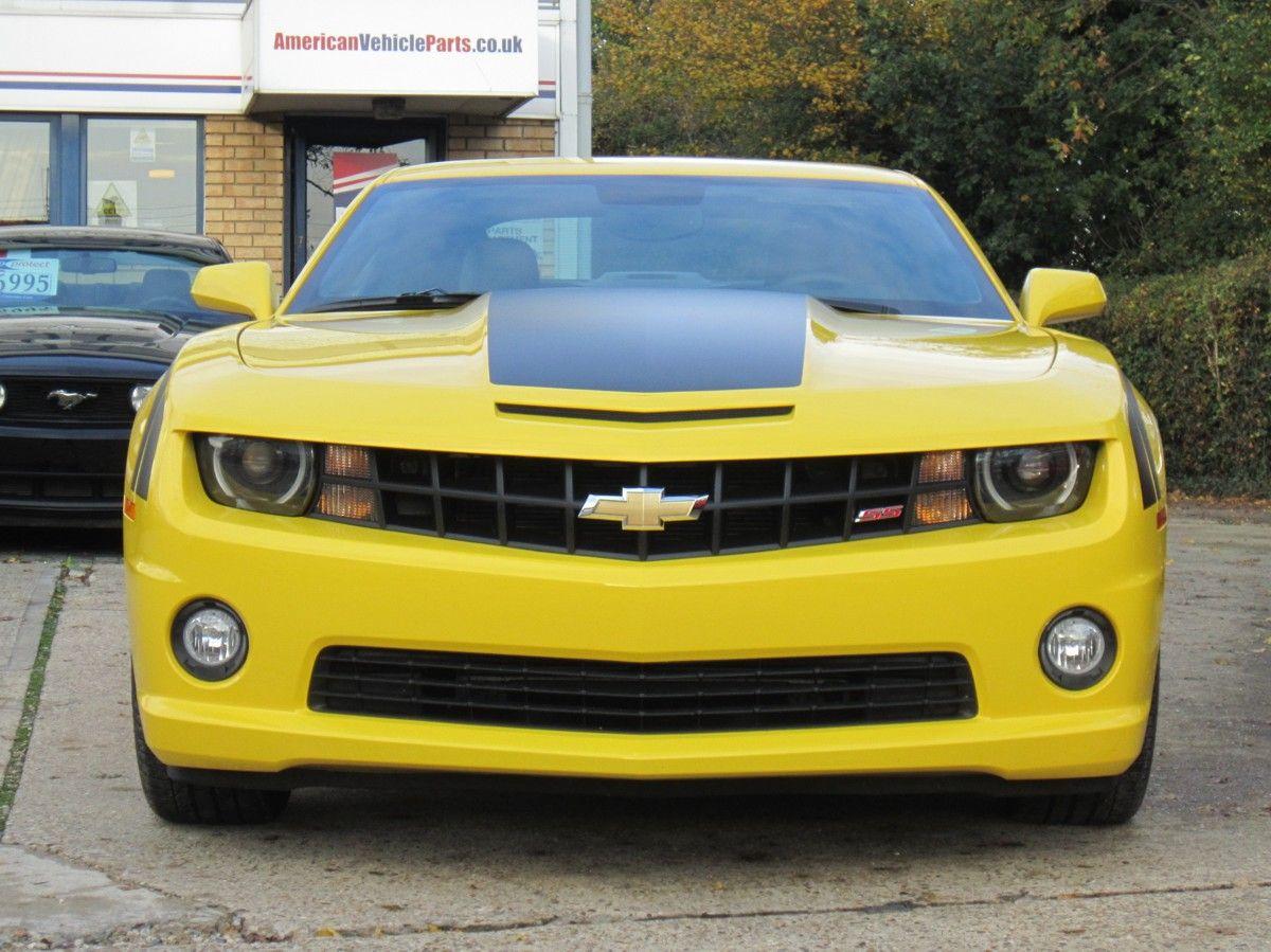 Bumblebee Yellow Chevrolet Camaro 2ss Chevrolet Chevrolet